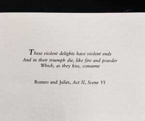 quotes, romeo and juliet, and shakespeare image