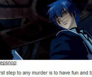 funny, fairy tail, and jellal image