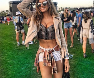 coachella, josephine skriver, and model image