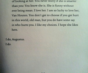 book, fault, and stars image