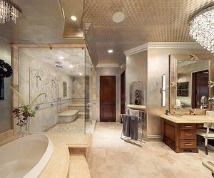 bathroom, rich, and classy image