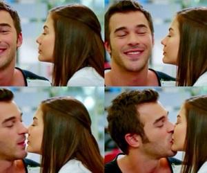 couple, kiss, and burak image