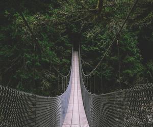 bridge, indie, and landscape image