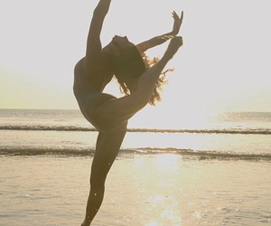 dance, beach, and life image