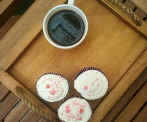 beauty, cup cake, and muffins image