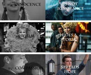 hunger games, katniss, and prim image