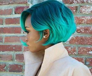 blue, hair, and short hair image