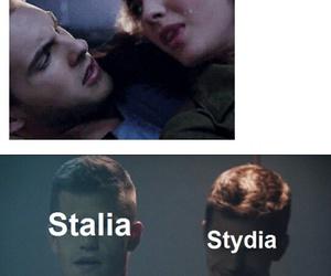 funny, stiles stilinski, and stydia image