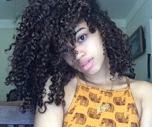 curly hair, Queen, and popin image
