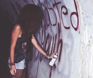 girl, grunge, and youth image