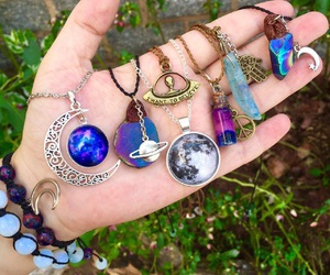 grunge, indie, and necklaces image