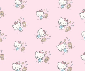 background, HelloKitty, and iphone image