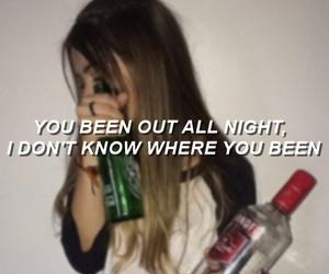 Lyrics, girl, and idfc image