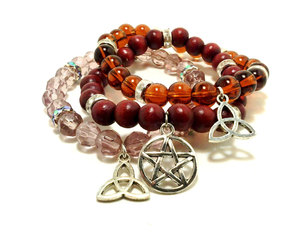 celtic knot, etsy, and set of 3 image