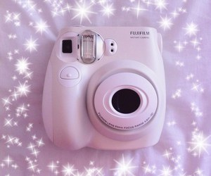 camera, pastel, and sparkle image