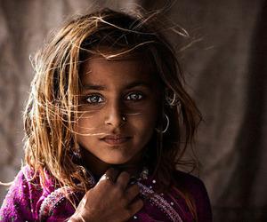 girl, eyes, and india image