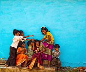 color, india, and blue image