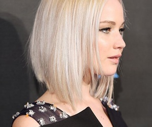 Jennifer Lawrence, blonde, and hair image