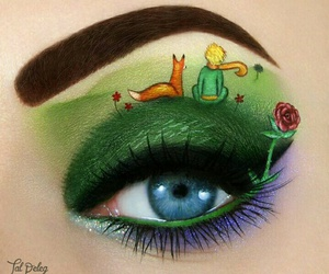 fox, makeup, and the little prince image