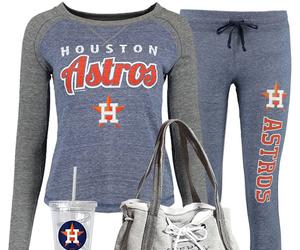 baseball, fashion, and houston image