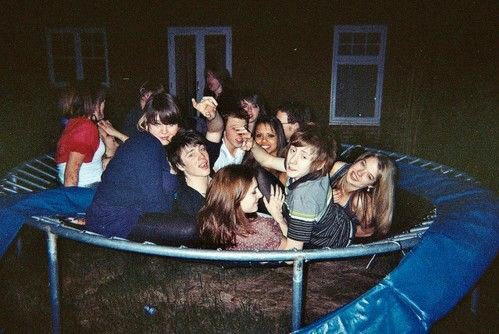 friends, party, and boy image