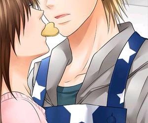 anime, blush, and anime couple image