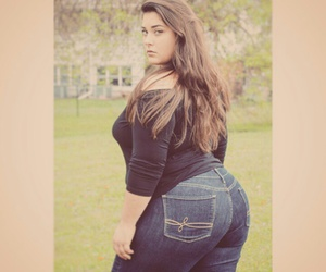 Bbw in jeans