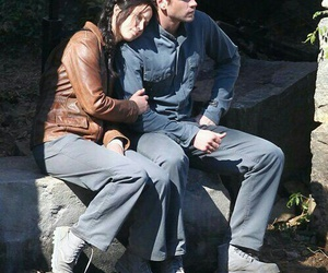 gale, Jennifer Lawrence, and the hunger games image