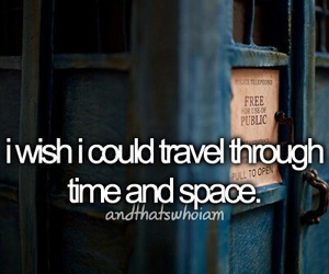 travel, doctor who, and quote image