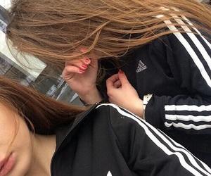 adidas, girl, and tumblr image