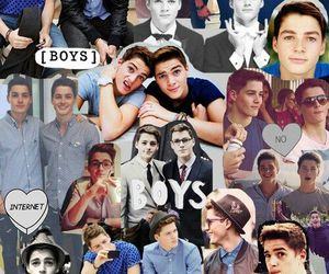 Collage, jack harries, and finn harries image