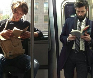 books, hermoso, and hombres image