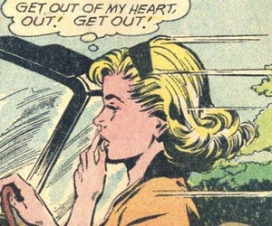 heart and comic image