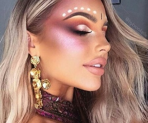 fashion, makeup, and outfit image