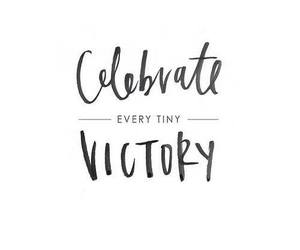 quote, celebrate, and victory image
