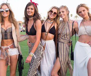 coachella, angels, and fashion image