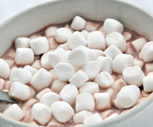 marshmallow, food, and chocolate image