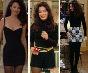 the nanny, fran drescher, and 90s image