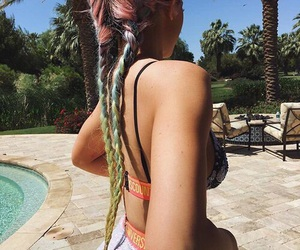 kylie jenner, hair, and coachella image