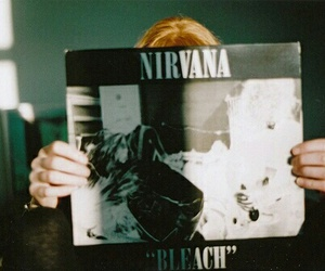 album, nirvana, and black image