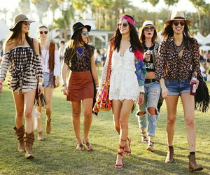 coachella, indie, and style image