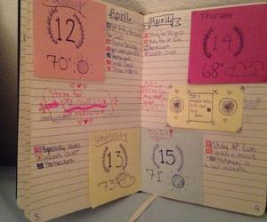 agenda, blue, and calendar image