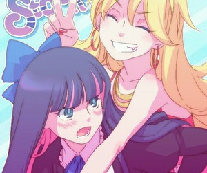 anime and panty and stocking image