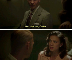 peggy carter, hayley atwell, and agent carter image