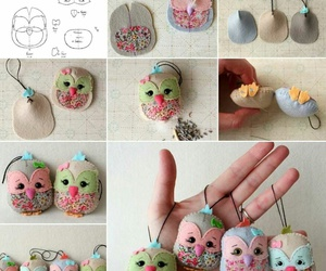 diy, owl, and crafts image
