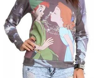fashion, girl, and peter pan image
