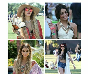 coachella, vanessa hudgens, and Queen image