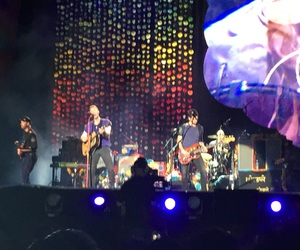Chris Martin, coldplay, and mexico image