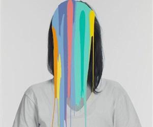 art, illustration, and neon image