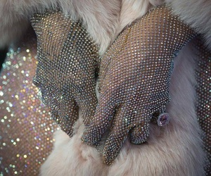 rihanna, diamond, and glitter image